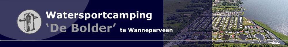 Watersportcamping de Bolder